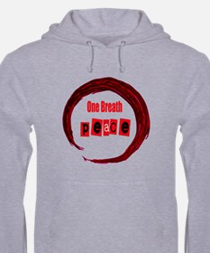 One Breath Peace And Hand Drawn Hoodie