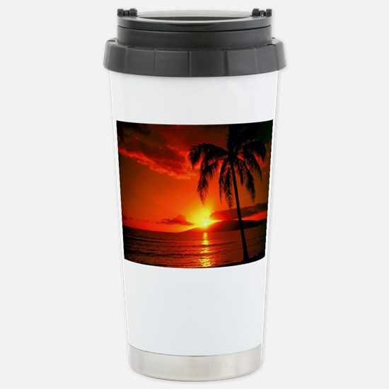 Sunset Stainless Steel Travel Mug