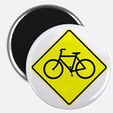 "Bike Sign Share the Road Magnet (2.25"")"
