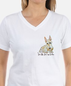 Wheaten Scottish Terrier Shirt