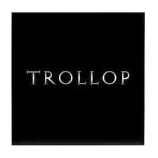Trollop (E) Tile Coaster