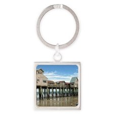 Old Orchard Beach  Square Keychain
