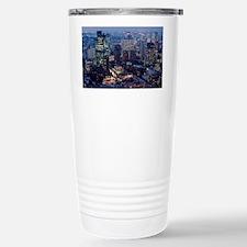 tokyo at night Stainless Steel Travel Mug