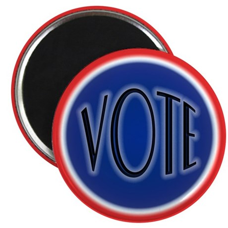 """Retro Vote Nostalgia 2.25"""" Magnet (10 pack)"""