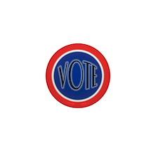Retro Vote Nostalgia Mini Button