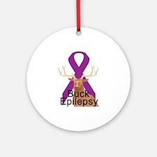 Epilepsy Ornament (Round)