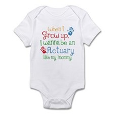Actuary Like Mommy Onesie