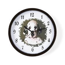 DALMATION PUPPY Wall Clock