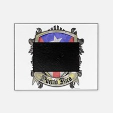 Puerto Rico Flag - Shield Crest Picture Frame