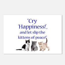 Kittens Of Peace Postcards (Package of 8)