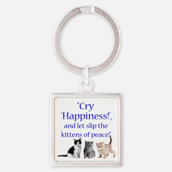 Kittens Of Peace Keychains