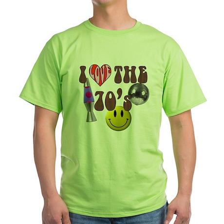 70's 4 Green T-Shirt