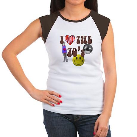 70's 4 Women's Cap Sleeve T-Shirt