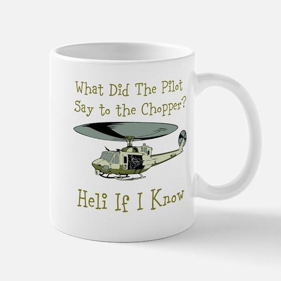 Heli If I Know Mugs