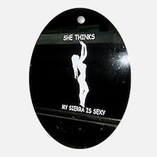 GMC Sierra Oval Ornament