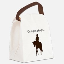 Horse Design by Chevalinite Canvas Lunch Bag