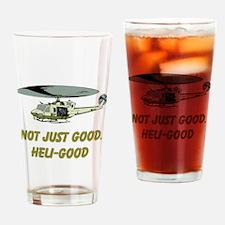 Heli-Good Drinking Glass