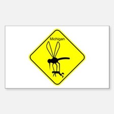 Mich State Bird Mosquito Decal