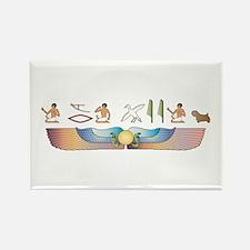 Sealyham Hieroglyphs Rectangle Magnet