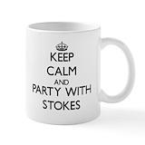Stokes family crest Standard Mugs (11 Oz)