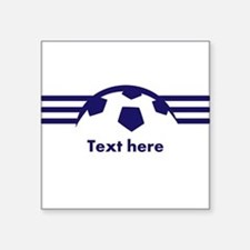 Custom Soccer Design Sticker