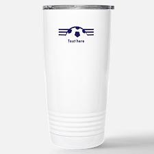 Custom Soccer Design Travel Mug