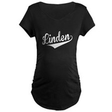 Linden, Retro, Maternity T-Shirt