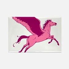 Cute Pink Pegasus Magnets