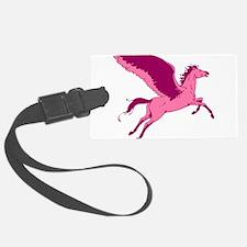 Cute Pink Pegasus Luggage Tag