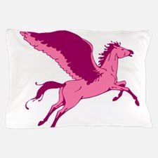 Cute Pink Pegasus Pillow Case