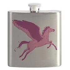 Cute Pink Pegasus Flask