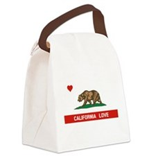 California Love Canvas Lunch Bag