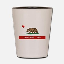 Funny University california Shot Glass