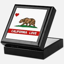 Cool I love california Keepsake Box