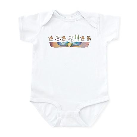 Schnoodle Hieroglyphs Infant Bodysuit