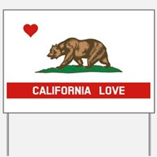 California Love Yard Sign