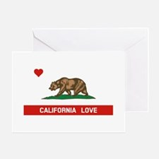 California Love Greeting Cards
