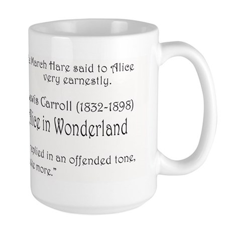 """Lewis Carroll"" - Large Mug"