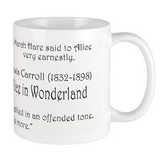 """Lewis Carroll"" -  Small Mugs"
