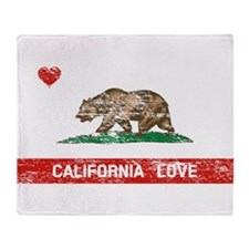 Unique I love californian boys Throw Blanket