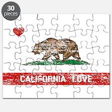 Cute California state Puzzle