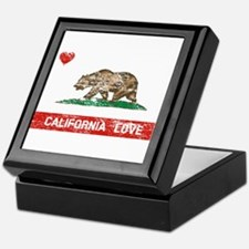 Unique California republic Keepsake Box
