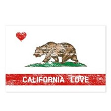 California Love Postcards (Package of 8)