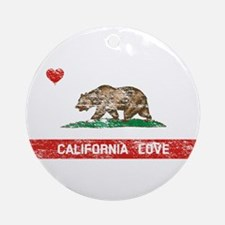 California Love Ornament (Round)