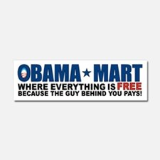 Funny Obama health care Car Magnet 10 x 3