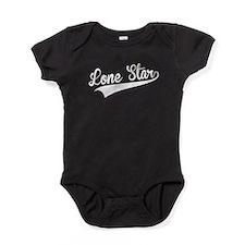 Lone Star, Retro, Baby Bodysuit