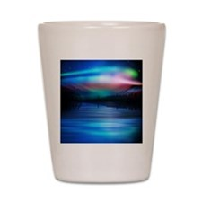 Northern Lights Shot Glass