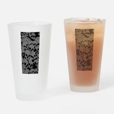 Skull Camouflage Drinking Glass