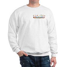 Saluki Hieroglyphs Sweater