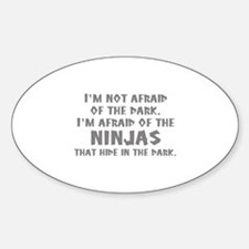 I'm Not Afraid Of The Dark Decal
